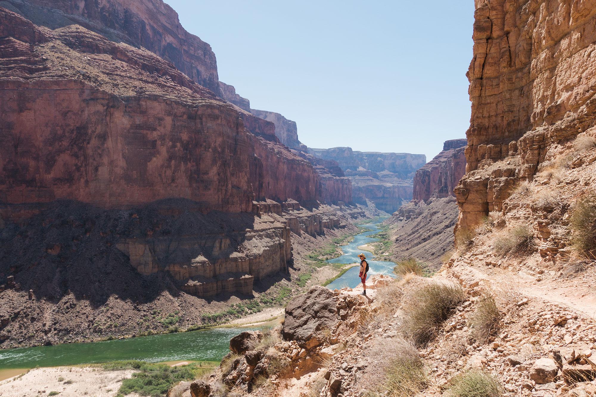 Apres Noon Grand Canyon Colorado River